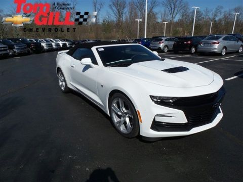 New 2019 Chevrolet Camaro SS RWD 2D Convertible