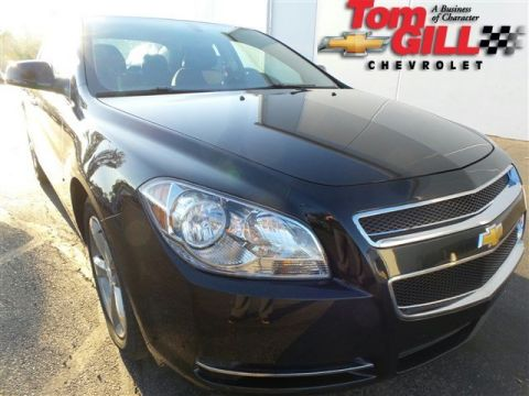 Pre-Owned 2012 Chevrolet Malibu LT with 1LT